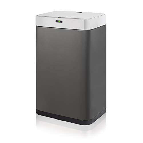 Tower T838001T Kitchen Bin with Sensor Lid, Hygienic Waste Disposal,...