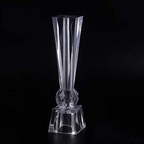 YXB Acryl glas salontafel voet TV kabinet steun been kabinet voet eettafel voet tafel poten kristal aquarium meubels accessoires