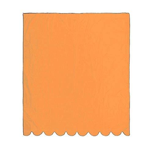 WITHOUT BRAND 1pc Sun Sonnensegel Vordach Wasserdichtes Markise Außensonnenschutz-Überdachung Fenstermarkise Markise UV-Block-Vorhang for Terrasse im Freien (Größe : Orange 2x1.5m)