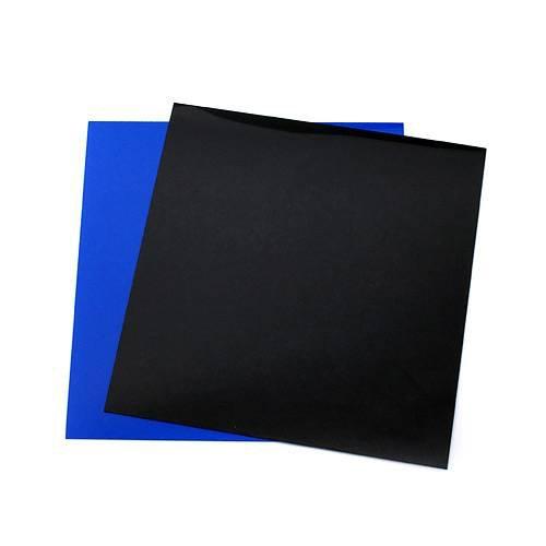 RG-30水槽用 丈夫な塩ビ製バックスクリーン 28.3×27.5cm 黒