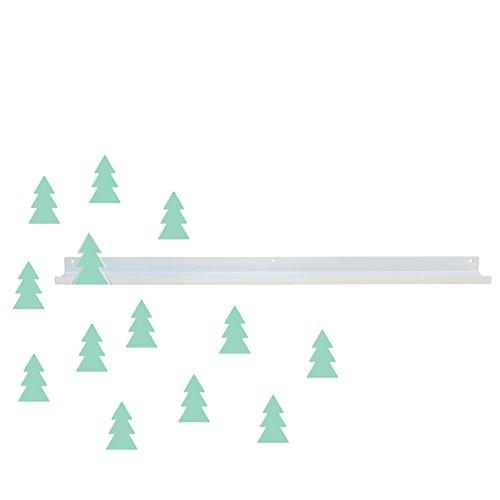 Tresxics plank lang, metaal, mint, 51 x 8 x 8 cm