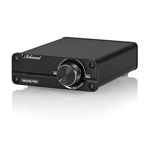 Nobsound Mini Dual TPA3116 Digital Power Amplifier HiFi Stereo Amp Audiophile-Grade 2.0 Channel 100W