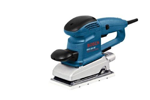 Bosch Professional GSS 230 AE Schwingschleifer, Zusatzhandgriff, 230 W, 0601292670
