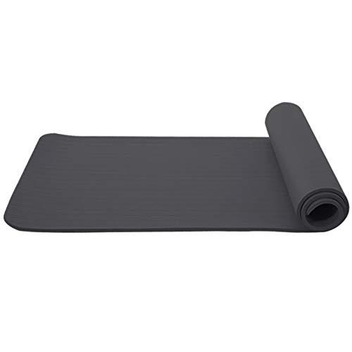 N / A Estera de Yoga Elaboración elaborada Manta Antideslizante Duradera Prolongada Gimnasio Inicio Perder Peso Almohadilla Equipo de Ejercicio físico 183 * 63 cm