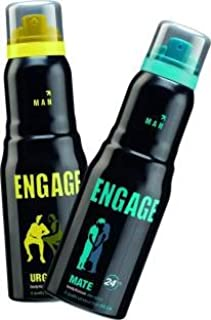 Engage Man Deo Spray Combo Urge & Mate 150ml each