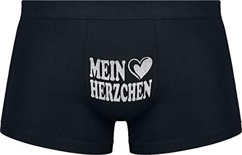 Herr Plavkin Geburtstagsgeschenk | Mein Herzchen | Hochzeitstag | Valentinstag | Black Boxershorts