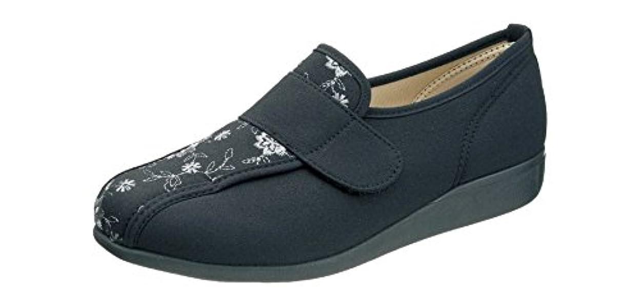 ウェブ冷淡な落ち着く快歩主義 L052 ブラック 【 3E 】歩くことを医学的に分析して開発しました。もっと元気になれる靴?快歩主義