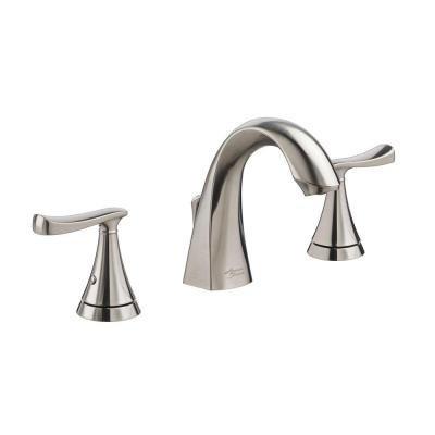 American Standard Chatfield 8 in. Widespread 2-Handle Bathroom Faucet in Brushed Nickel
