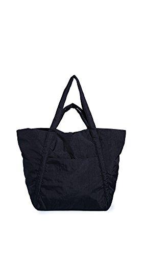 BAGGU Women's Travel Cloud Bag, Black, One Size