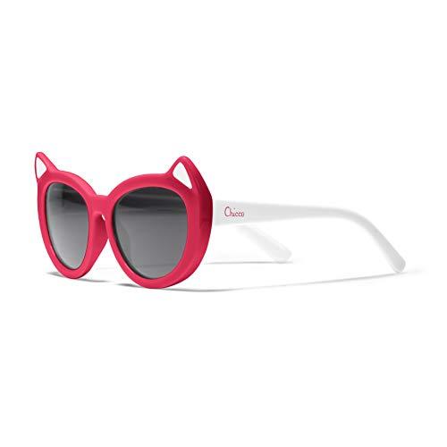Chicco Gafas de sol para niña, 36 meses, color rojo
