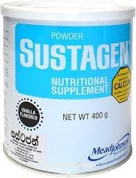 Sustagen Vanilla Flavor Nutritional Supplement 400g Tin Milk Powder