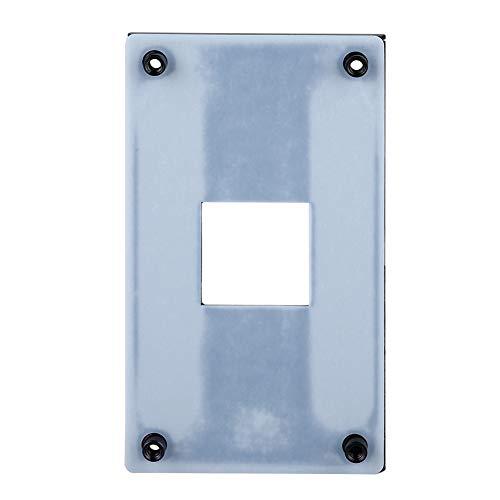 Rückplatte für AMD-CPU-Kühlkörperhalterung Rückwandplatine Backplate-Eisenplatte für Intel AMD/AM2/3/2 +/3 + Schwarze AMD-Plattform Gute Wärmeableitung Eisenplatte, langlebig, gute Wärmeableitung