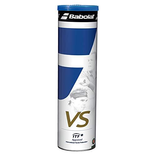 Babolat Vs N2 X 4 Pelota de Tenis, Unisex Adulto, Amarillo, Talla...
