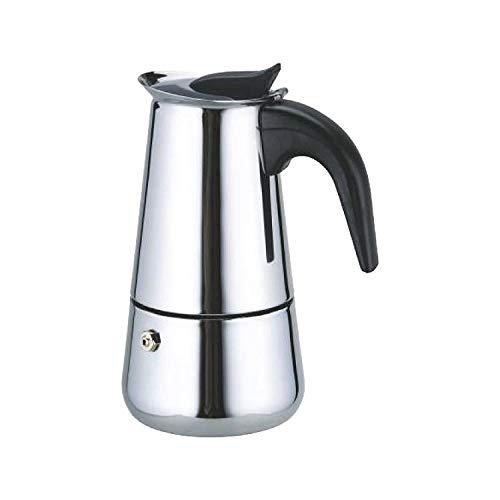 Fashion Petals Stainless Steel Coffee Perculator, 350ml, Silver