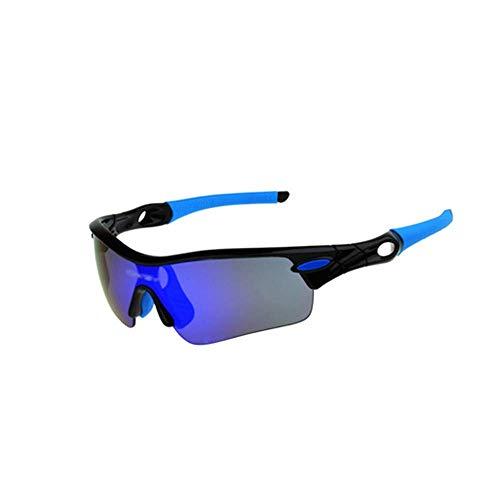 ZLININ Y-longhair Gafas de ciclismo Hombres y mujeres al aire libre gafas de equitación cinco bicicletas polarizadas gafas de sol de deportes al aire libre gafas de sol