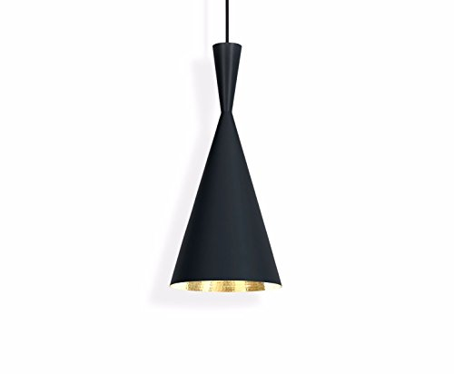 Tom Dixon Sospensione Beat Shade Tall In Ottone/laccato
