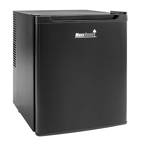 MaxxHome Mini Frigo - Mini Bar Termoelettrico e Piccolo Frigorifero Indipendente con Funzionamento Silenzioso – Temperatura Regolabile - 42L (Nero)