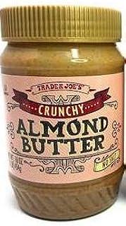 Trader Joe's Crunchy Unsalted Almond Butter 16 oz