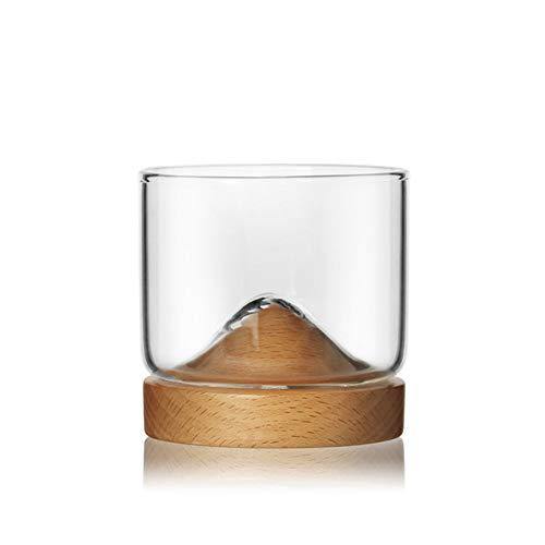 DISCOUNTL weinglas, weinglas Geschenk kreative persönlichkeit bergglas Glas kleines Glas Whisky verkostung Glas Home bar Wein Set