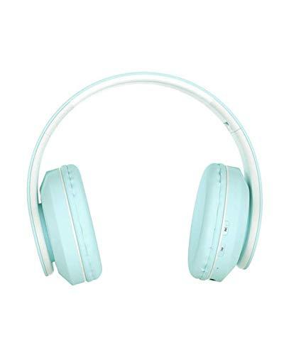 inPods Boom Macaron Green Auriculares Inalámbricos estéreo de Alta fidelidad Bluetooth - Su Exclusivo diseño Plegable lo Hace portátil