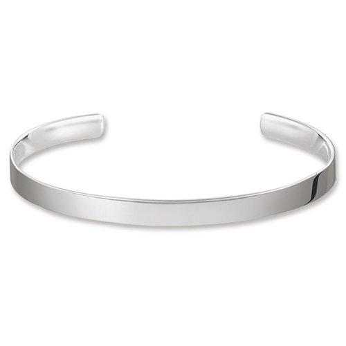 THOMAS SABO Damen-Armreif Love Cuff 925 Sterling Silber AR087-001-12-M