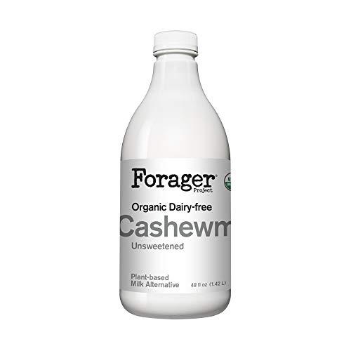 Forager Project, Organic Unsweetened Plain Cashewmilk, 48 Fl Oz
