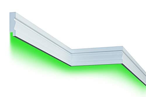 2 Meter |Fassade | LED Stuck | EPS | PU | wetterfest | 35x125mm | MC304