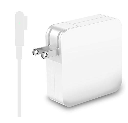 Mac Book Pro Charger, Replacement 85W L-Tip Power Adapter Compatible for Magsafe 1 MacBook Pro 15-Inch and 17-inch Laptop by Uflatek (Laptop Before 2012)