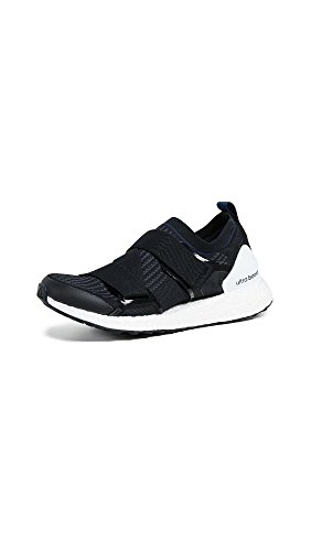 adidas by Stella McCartney Women's Ultraboost X Sneakers, Black/Grey/Collegiate Navy, 3.5 M UK