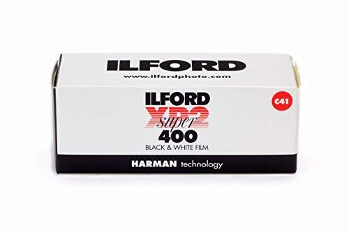 Ilford XP2 Super 1839649 Druckfolie, 120 (6 cm), Schwarz/Weiß