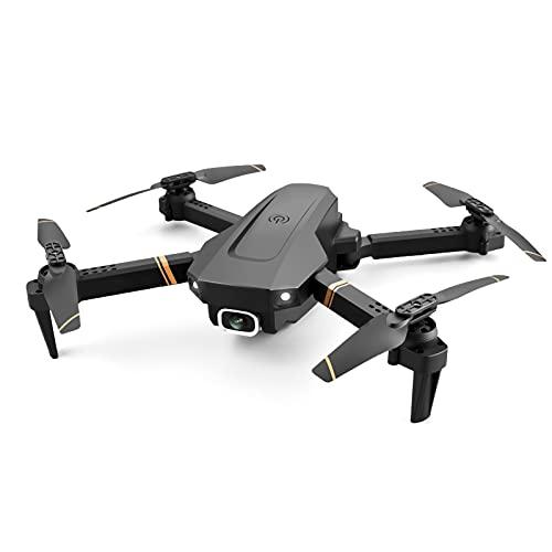 FDSGEWW Batteria a Lunga Durata 4K Dual Camera HD Drone Telecomandato Pieghevole Quadcopter 3.7V 1500mAh Giocattolo