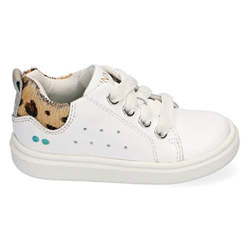 BunniesJR Kiki King - Kinderschoenen Meisjes Maat 24 - Wit - Sneakers