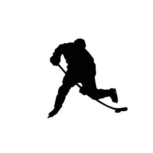Autoaufkleber 11.3 * 11.2Cm Autoaufkleber für Eishockeyspieler Motion Reflective Vinyl Decals