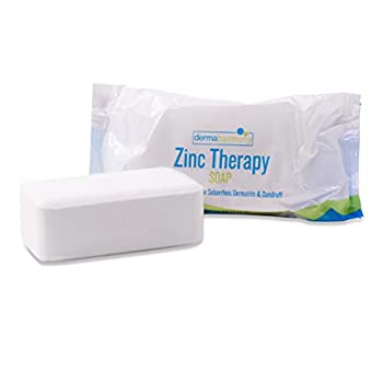 DermaHarmony 2% Pyrithione Zinc  ZnP  Bar Soap 4 oz - Crafted for Those with Skin Conditions - Seborrheic Dermatitis Dandruff Psoriasis Eczema etc.