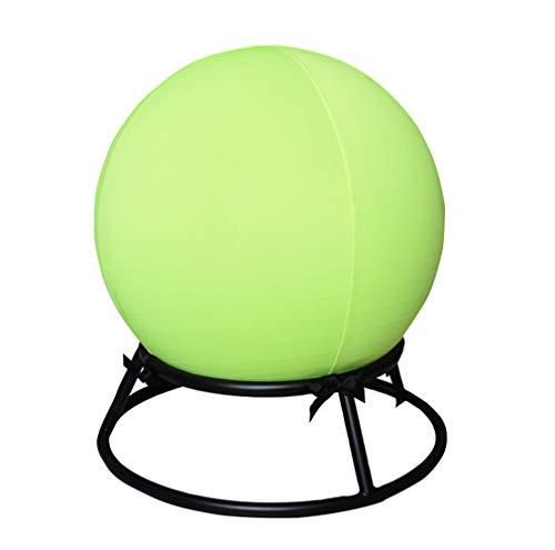 Unbne Yoga Ball Stuhl Premium Übung Stabilität Ergonomischer Stuhl Fitnesshocker mit Gymnastikball, Fitnessball, Ballhocker, Sitzalternative