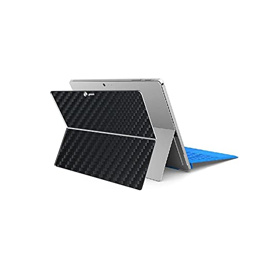 Vaxson 2 Unidades Protector de pantalla Posterior, compatible con Microsoft Surface Pro 4 12.3' Pro4, Película Protectora Skin Piel Negro [No Carcasa Case ]