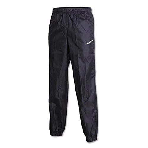 Joma Pantalon Largo Impermeable Leeds Negro, Hombre, Negro-100, XL