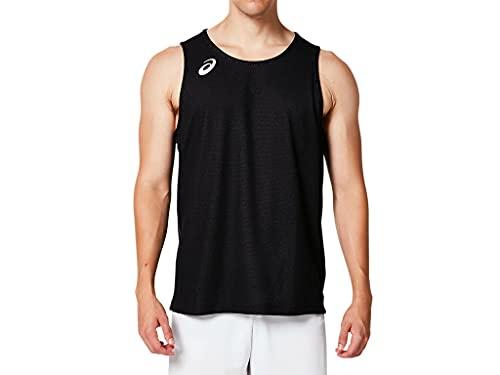 [アシックス] バスケットボールウエア リバーシブルシャツ 2063A066 [男女兼用] パフォーマンスブラック 日本 L (日本サイズL相当)