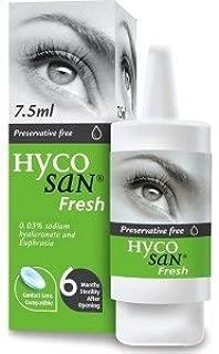 Hycosan Fresh lubricating eye drop by Hycosan
