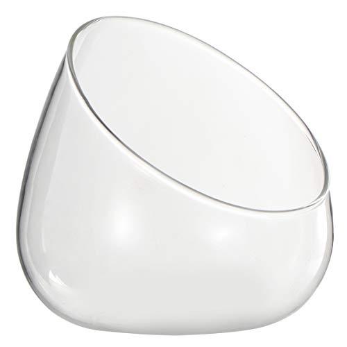 Cabilock Glass Terrarium Bowl Vase Planter Jar Air Plant Holder for for Fern Moss Succulent Air...