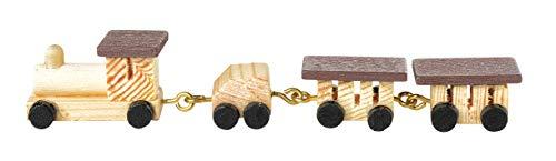Mini-Holz-Zug, ca. 9 x 1 cm