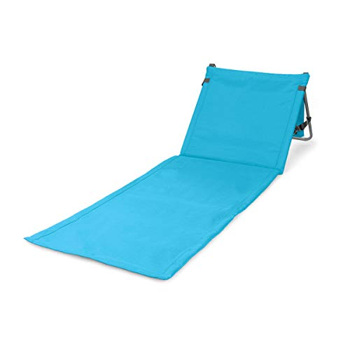 ONIVA - a Picnic Time Brand Beachcomber Portable Beach Mat, Blue