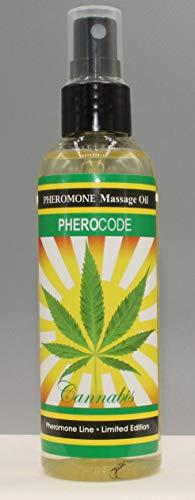 Massage Oil PheroCode 3.4 Fl. Oz with Pheromones and Hemp Flower Sensual Aphrodisiac