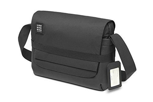 Moleskine Messenger Bag für die Arbeit (Gerätetasche für Tablet, Laptop, PC, Notebook und iPad bis 15 Zoll, Maße 39 x 13 x 28 cm) schwarz