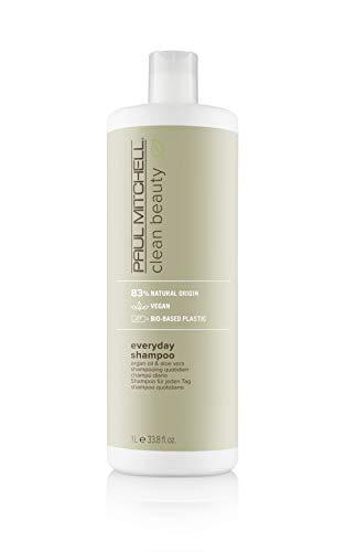 Paul Mitchell Clean Beauty Everyday Shampoo – Vegane Haar-Wäsche Für Alle Haar-Typen, Tägliche Haarpflege Mit Argan-Öl – 1000ml