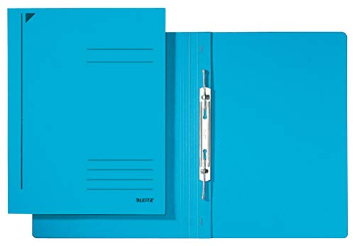 Esselte Leitz Spiralhefter, A4, kfm. Heftung, Pendarec-Karton, blau