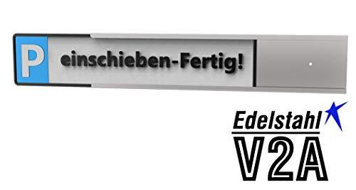 Reinkedesign Parkplatz Schilder- Halterung für KFZ- Schilder (KFZ- Parkschildhalterung mit Wandbefestigung)