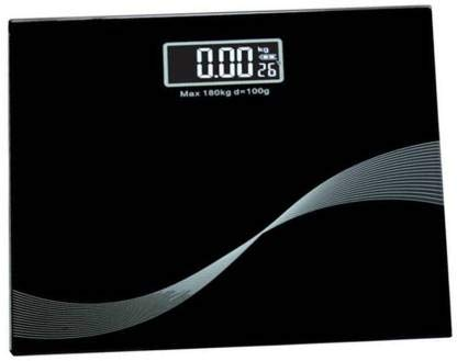 RTB Electronic Thick Tempered Glass & LCD Display Digital Personal Bathroom Health Body Weight Weighing Scales For Body Weight, Weight Scale Digital For Human Body