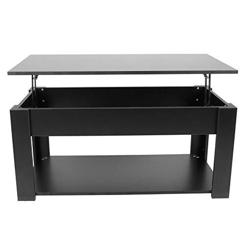 AYNEFY Tavolino da Salotto con Piano Sollevabile - Tavolino da caffè Sollevabile Moderno, Tavolo Moderno da Divano Salotto Soggiorno, 97.1x46.1x59 cm