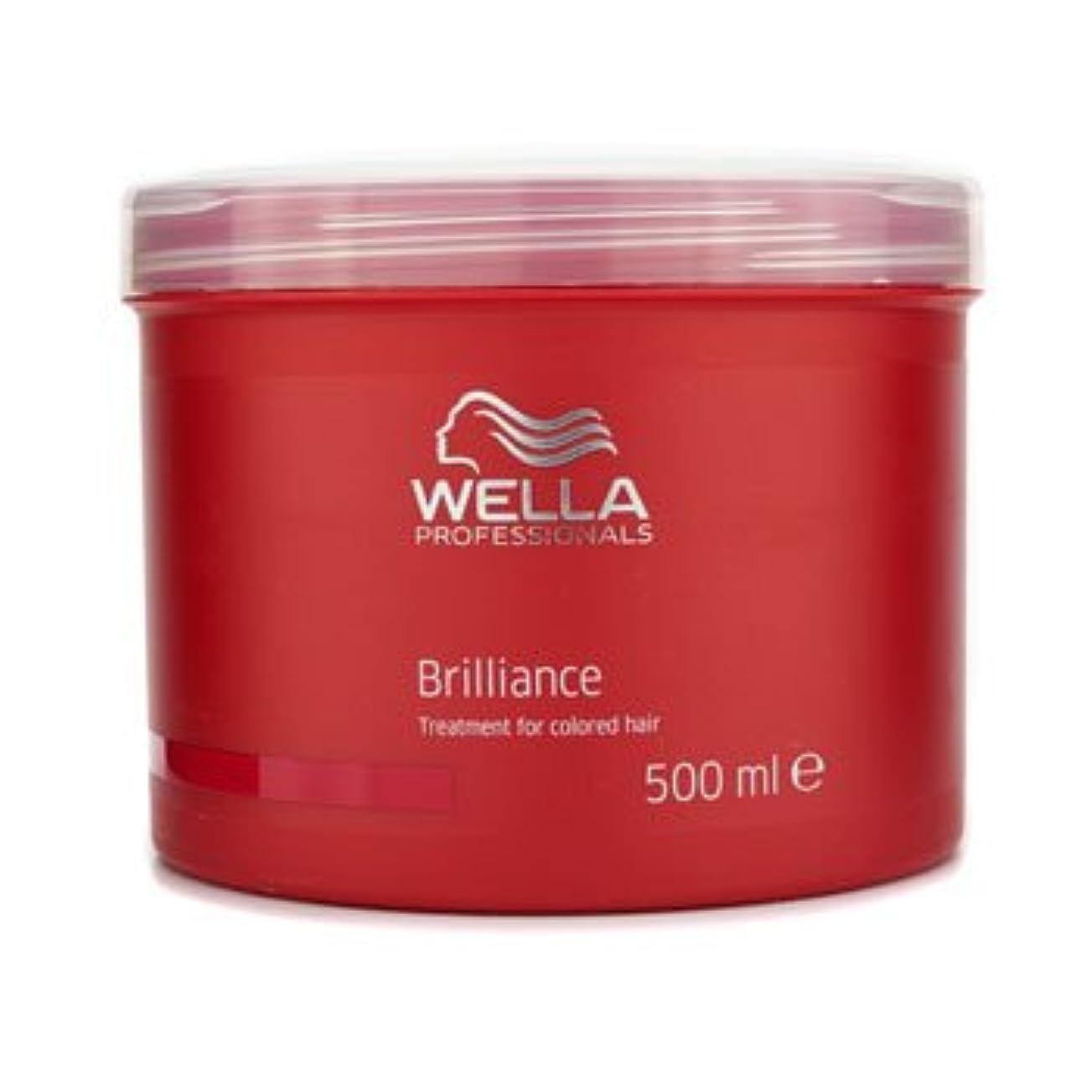 権限嬉しいです溢れんばかりの[ウエラ] ブリリアンス トリートメント (染めた髪用) 500ml/17oz